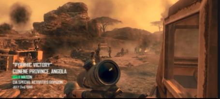 Call of Duty: Pyrrhic Victory, Angola